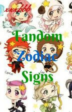 Fandom zodiac signs by xxxbbb
