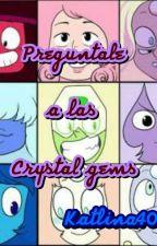 Preguntale A Las Crystal Gems by zafiro40