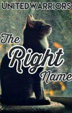 The Right Name [UnitedWarriors] by UnitedWarriors