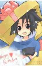 [Sasuke x Reader] A Wonderful Gift by NatalieBlueBoy