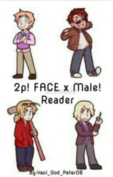 Uke! 2p! FACE x Seme! Male! Reader