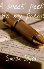 A Sneak Peek Into My Poems! by simransweet