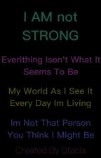 I AM not STRONG (danish) by stac0008