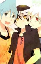 Soul Eater Black Star, Death the Kid, and SoulxReader Remake~ by rainstorm121