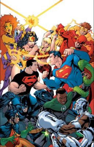 DC comic imagines