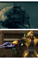 Halo: Old Marine, New Spartan by thehackerstory
