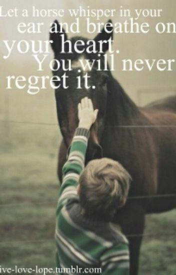 Cute Horse Quotes - Champions_at_heart - Wattpad