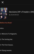 Decisions (Harry Potter x Reader x Draco Malfoy) by Artsy_Em