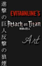 [Evitaonline's Attack on Titan Art] by evitaonline