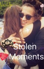 Stolen Moments/ Brad Simpson by FloralFangirl14