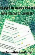 Frases De Harry Potter Para Estado De Whatsapp  by PaulaGrangerPotter