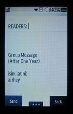 Group Message (After One Year) by aizhey
