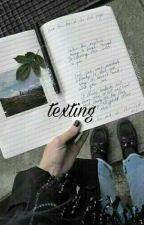 texting + k.th by fvckboytae
