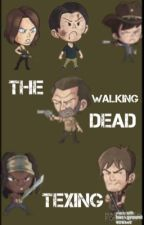 The walking dead texting by fantasypopcorn