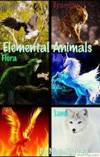 Elemental Animals by NinjaKitty43