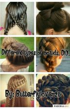 Different Types Of Braids. DIY! by Butterflylover25