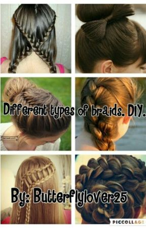 Different Types Of Braids Diy Easy Braided Updo Wattpad