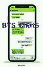 Bts | Texting | Story by tyac03