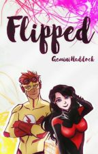 Flipped [Kid Flash x Boy Wonder] by GeminiHaddock