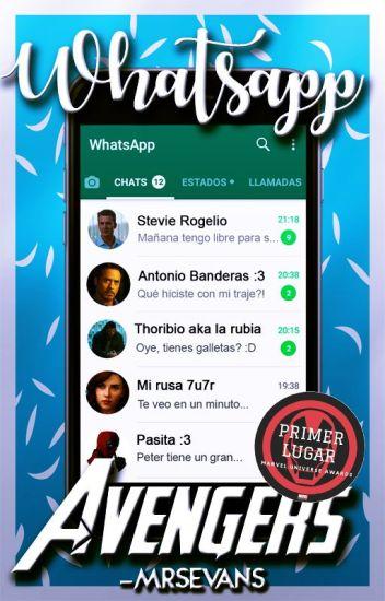 Whatsapp Avengers [Actualizaciones lentas]