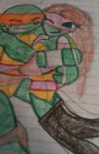 ARACELI+MIKEY LOVE STORY( TMNT) by lilyraph54