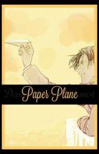 Paper Plane || Takao Kazunari x Reader by DarkkMatterAlchemist