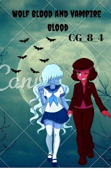 Ruby And Sapphire (wolfblood and vampire Blood)