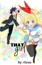That girl [Chitoge x Raku Love Story] by r0xias