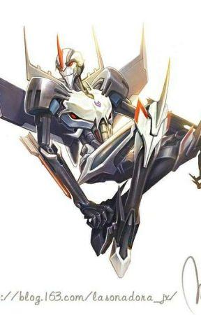 Transformers One-shots (Decepticons) - My human (Starscream x reader