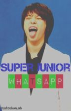 Super Junior Whatsapp ( ͡° ͜ʖ ͡°) by featsehun_ah