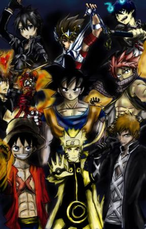 Anime X Reader by danadoa2002