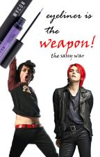 Eyeliner is the weapon! The sassy war: Billie Vs. Gerard by TheDarkSideOfHeaven