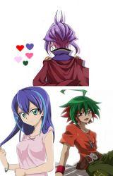Spin-Off Rin's Wish: Yuri  Serena and Yuya's life in abroad (Yu-Gi-Oh Arc V) by Tsukiko05