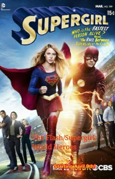 The Flash/Supergirl: World Heroes