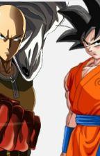 SAITAMA VS GOKU by DarkboyZ