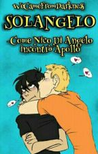 Solangelo: Nico Incontra Apollo by WeCameFromDarkness