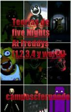 Teorias De Five Nights At Freddys (1,2,3,4, World Y Sister Location) by camposcfernando