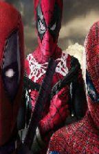 soy hijo de spiderman y un mercernarioSpideypool by sharithehedgehog