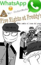 ¡Whatsapp Five Nights At Freddy's! by sundaysmild