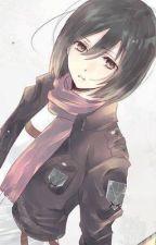 M!Reader x Mikasa by ShmurJack