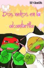 Dos nekos en la alcantarilla  by CoconutChibi