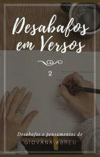 Além dos Versos -vol. 2 by Gio_Abreu
