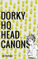 dorky haikyuu!! ➳ headcanons by asgardiyn