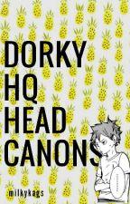 dorky haikyuu!! ➳ headcanons by milkykags