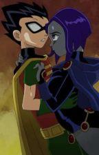 Raven Y Robin Amor Eterno by karen_de_Draw_1994