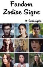 Fandom Zodiac Signs by fandomgirlx