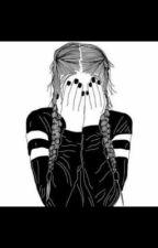 La larme à l'œil, le cœur serré  by queenAlgg