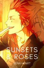 Sunsets & Roses || Axel X Reader|| by Xena-Heart