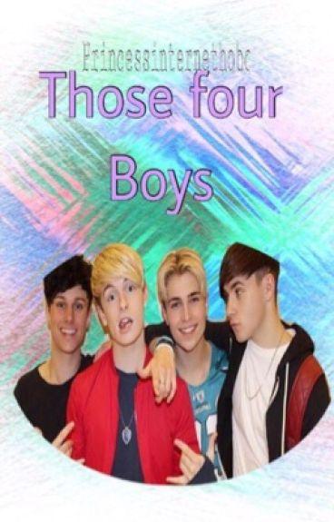 Those Four Boys| RoadTrip fanfic