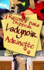 Razones para Shippear Ladynoir/ Adrinette by JazMontero123